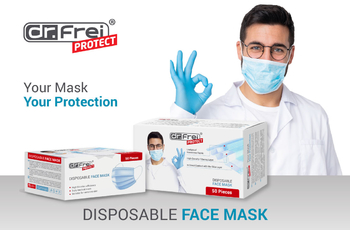 New Dr.Frei Protect Disposable Face Mask