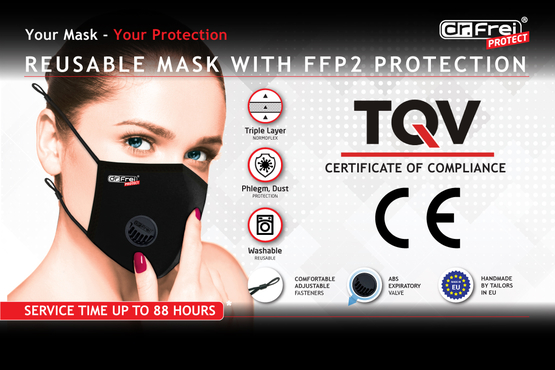 Our Masks Are Granted CE Marking Certification
