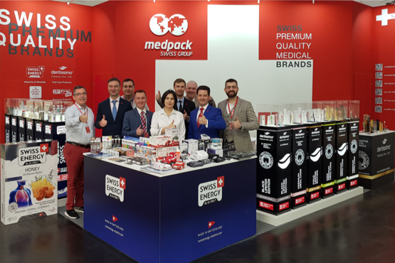 Hail Medpack Swiss Group at MEDICA!